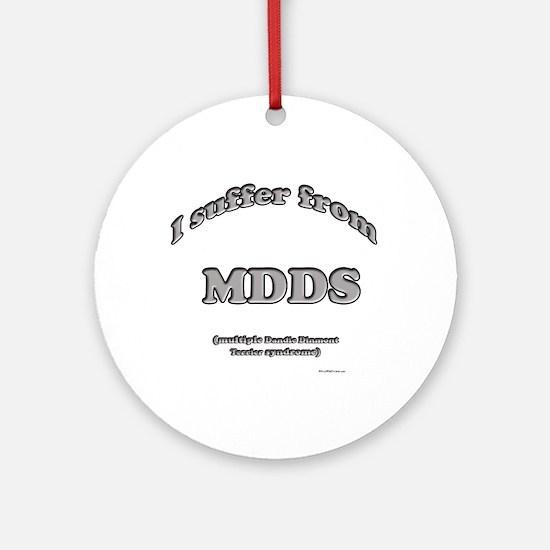 Dandie Syndrome Ornament (Round)