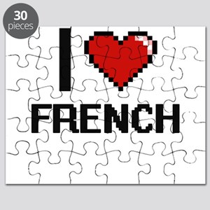 I love French Puzzle