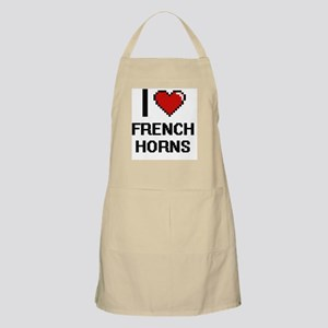 I love French Horns Apron