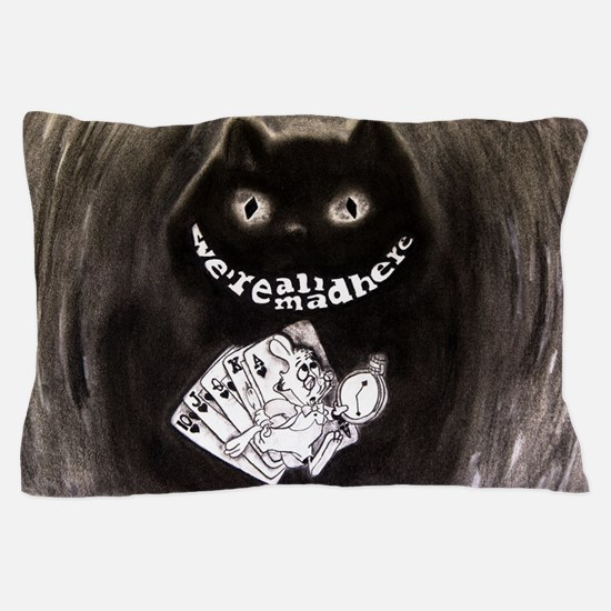Cute Cheshire cat Pillow Case