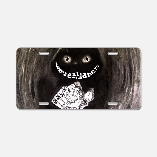 Cute Alice Aluminum License Plate