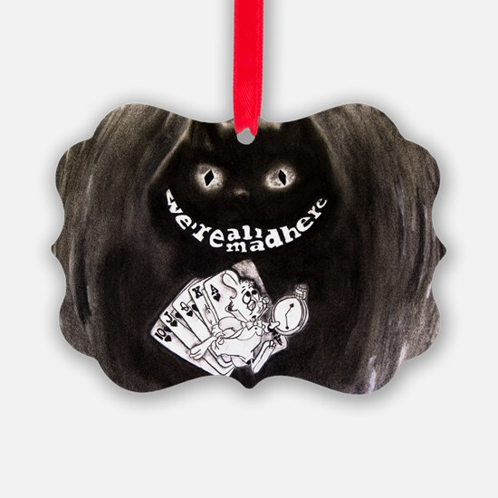 Cool Alice in wonderland cheshire cat Ornament