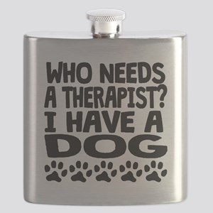 I Have A Dog Flask