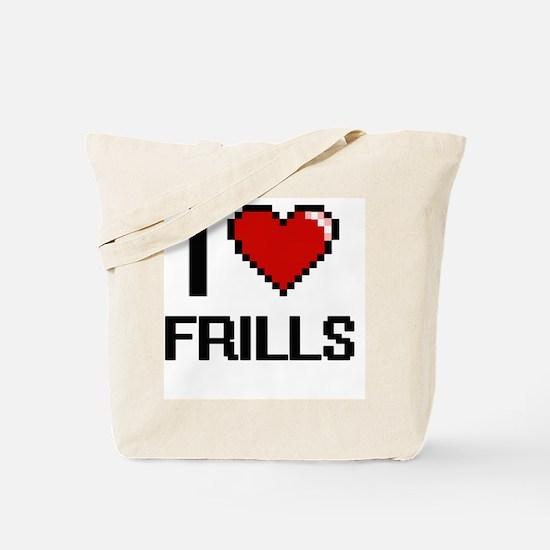 Funny Frills Tote Bag