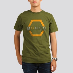 Bones Logo Organic Men's T-Shirt (dark)