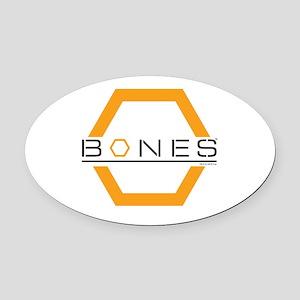 Bones Logo Oval Car Magnet