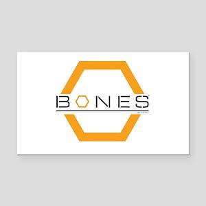 Bones Logo Rectangle Car Magnet
