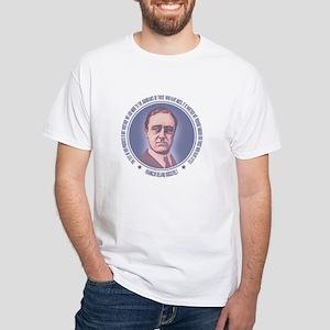 FDR - Progress White T-Shirt