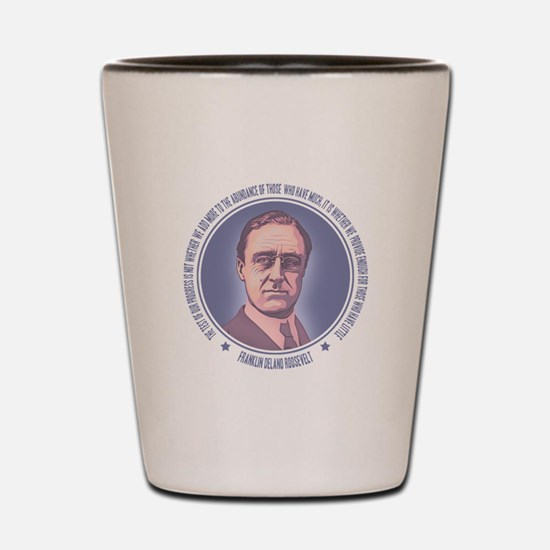 FDR - Progress Shot Glass