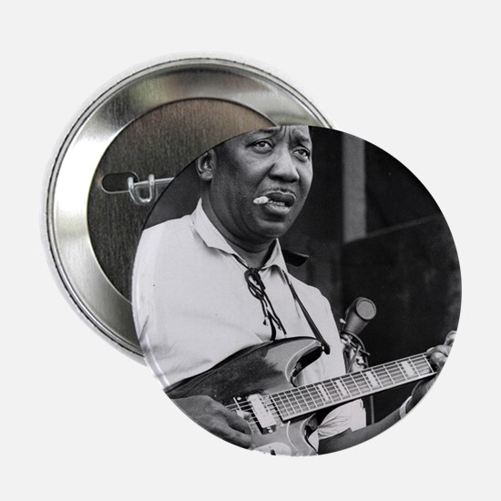 "Muddy waters 2.25"" Button"