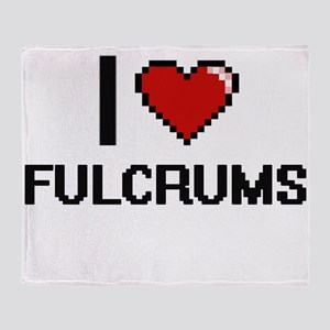 I love Fulcrums Throw Blanket