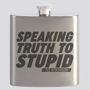 Speaking Truth To Stupid The Newsroom Flask