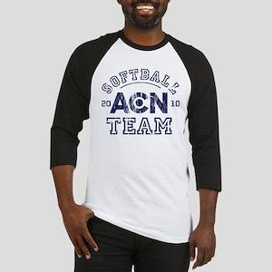 ACN Softball Team The Newsroom Baseball Jersey