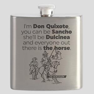The Newsroom Don Quixote Flask