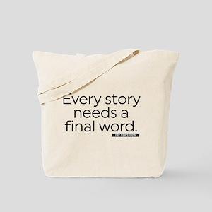 The Newsroom Every Story Tote Bag