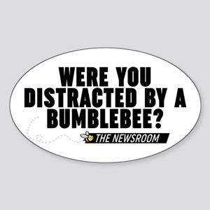 Distracted By A Bumblebee The Newsroom Sticker