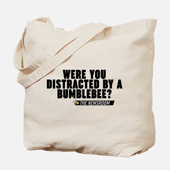 Distracted By A Bumblebee The Newsroom Tote Bag