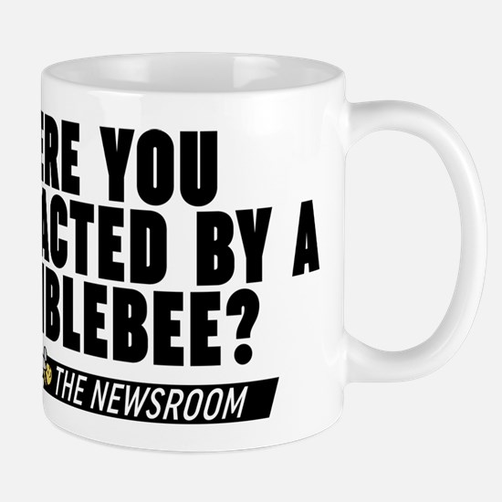 Distracted By A Bumblebee The Newsroom Mugs