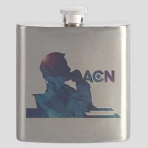 The Newsroom ACN Blue Flask