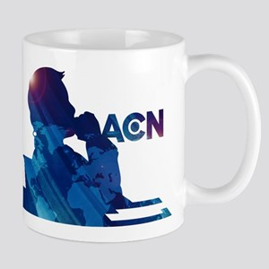 The Newsroom ACN Blue Mugs