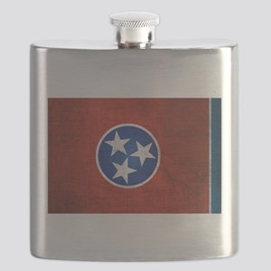 Tennessee State Flag Flask