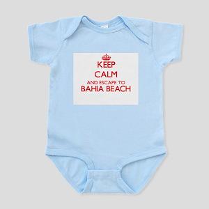 Keep calm and escape to Bahia Beach Flor Body Suit