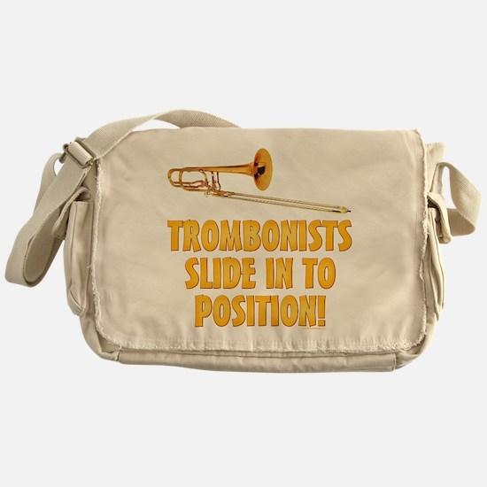 Trombonists Slide In To Position Messenger Bag