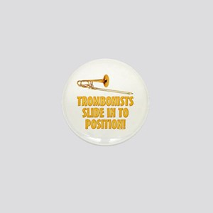 Trombonists Slide In To Posi Mini Button (10 pack)