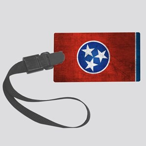 Tennessee State Flag Large Luggage Tag