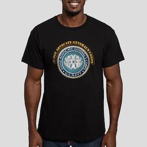 Judge advocate General Men's Fitted T-Shirt (dark)