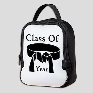 Black Belt Neoprene Lunch Bag