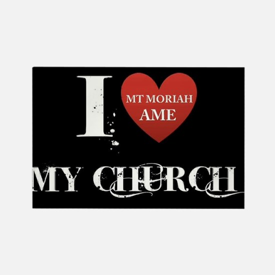 I Love My Church, Mt Moriah AMEC Cocoa, FL Magnets