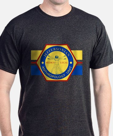 Bones Jeffersonian Anthropology Unit T-Shirt