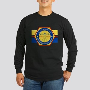 Bones Jeffersonian Anthro Long Sleeve Dark T-Shirt