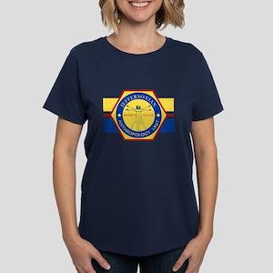 Bones Jeffersonian Anthropolo Women's Dark T-Shirt