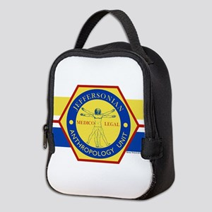 Bones Jeffersonian Anthropology Neoprene Lunch Bag