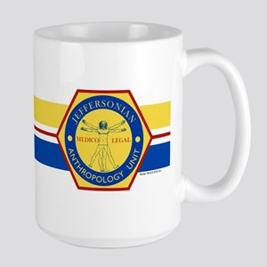 Bones Jeffersonian Anthropology Unit Fu Large Mug