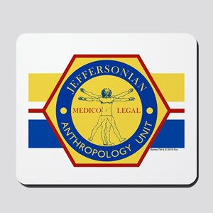 Bones Jeffersonian Anthropology Unit Ful Mousepad