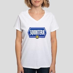 Bones Squintern Women's V-Neck T-Shirt