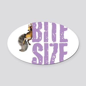Ice Age Bite Size Oval Car Magnet