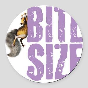 Ice Age Bite Size Round Car Magnet
