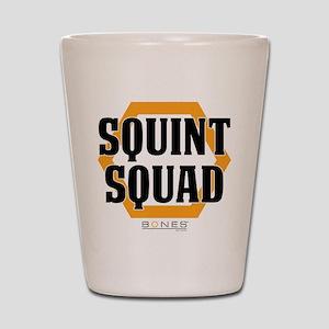 Bones Squint Squad Shot Glass