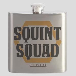 Bones Squint Squad Flask
