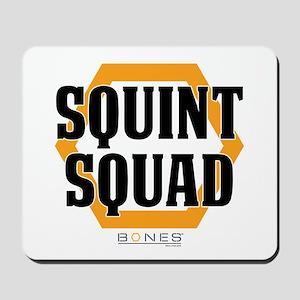 Bones Squint Squad Mousepad