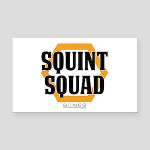 Bones Squint Squad Rectangle Car Magnet