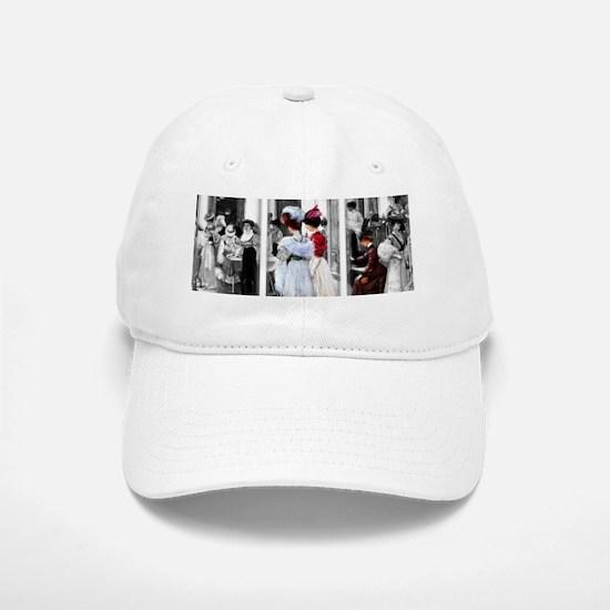 vintage victorian ladies Baseball Baseball Cap