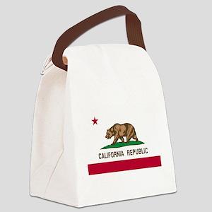 CALIFORNIA BEAR Canvas Lunch Bag