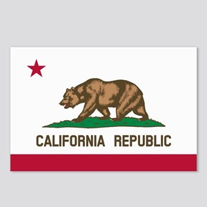 CALIFORNIA BEAR Postcards (Package of 8)