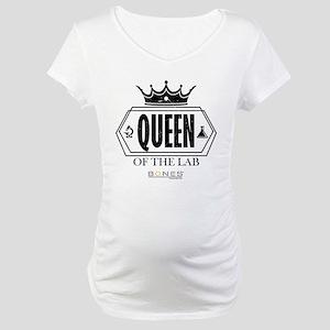 Bones Queen of the Lab Maternity T-Shirt