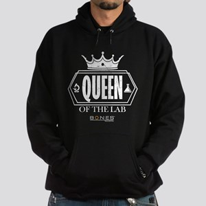 Bones Queen of the Lab Hoodie (dark)